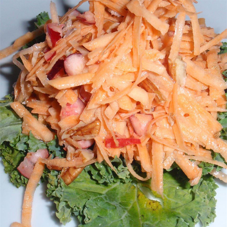 Raw Yam Salad