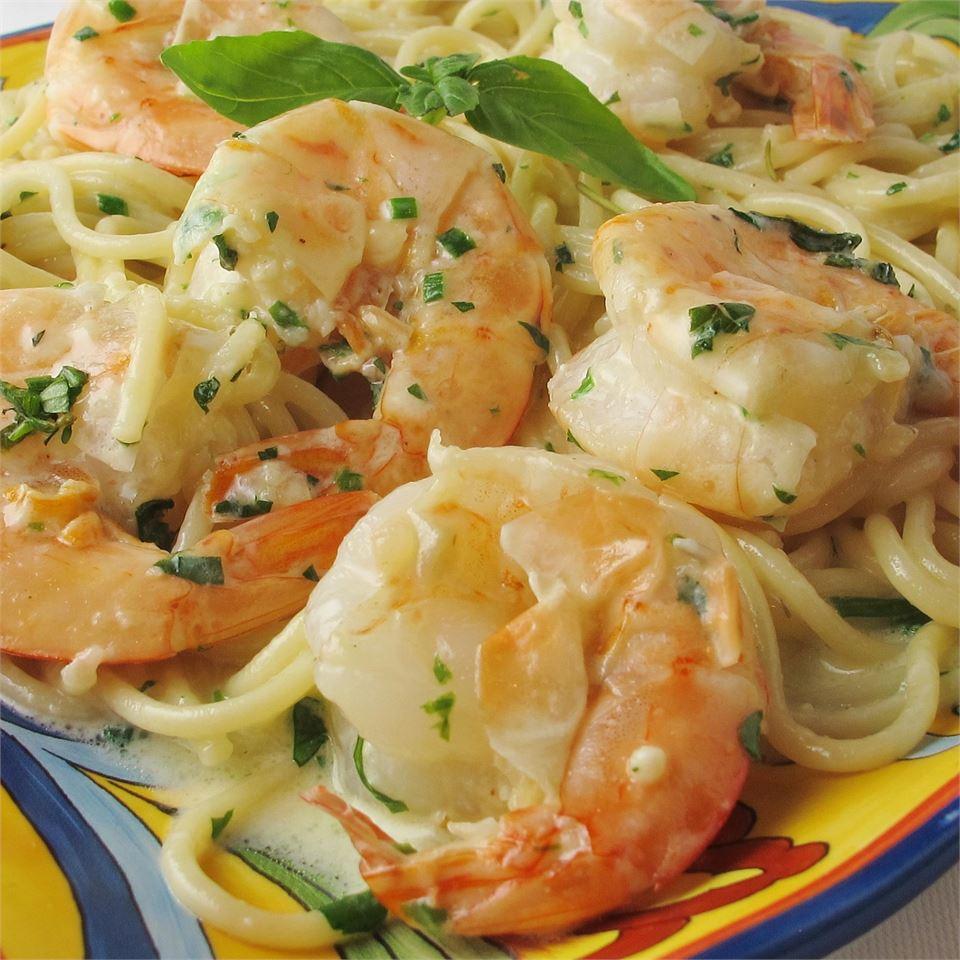 Shrimp Linguine image