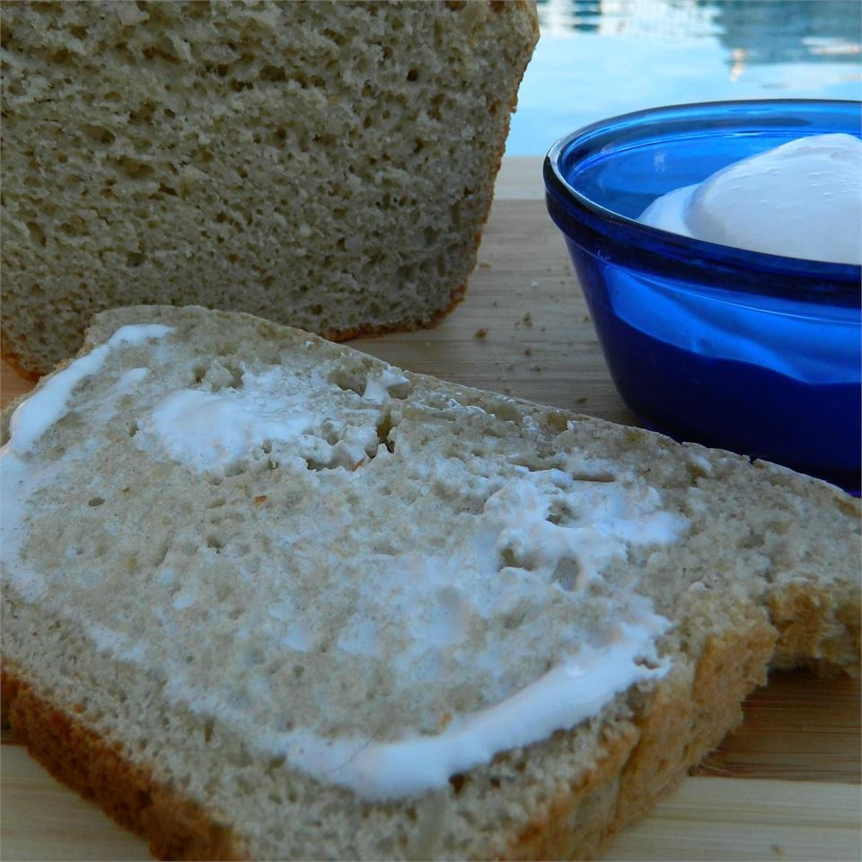 Honey Macadamia Oat Bread