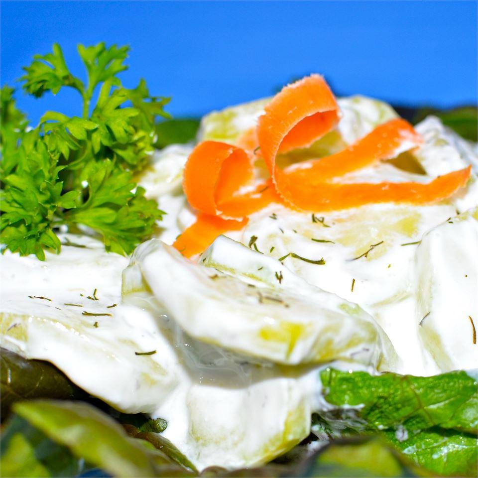 Dill Cucumber Salad