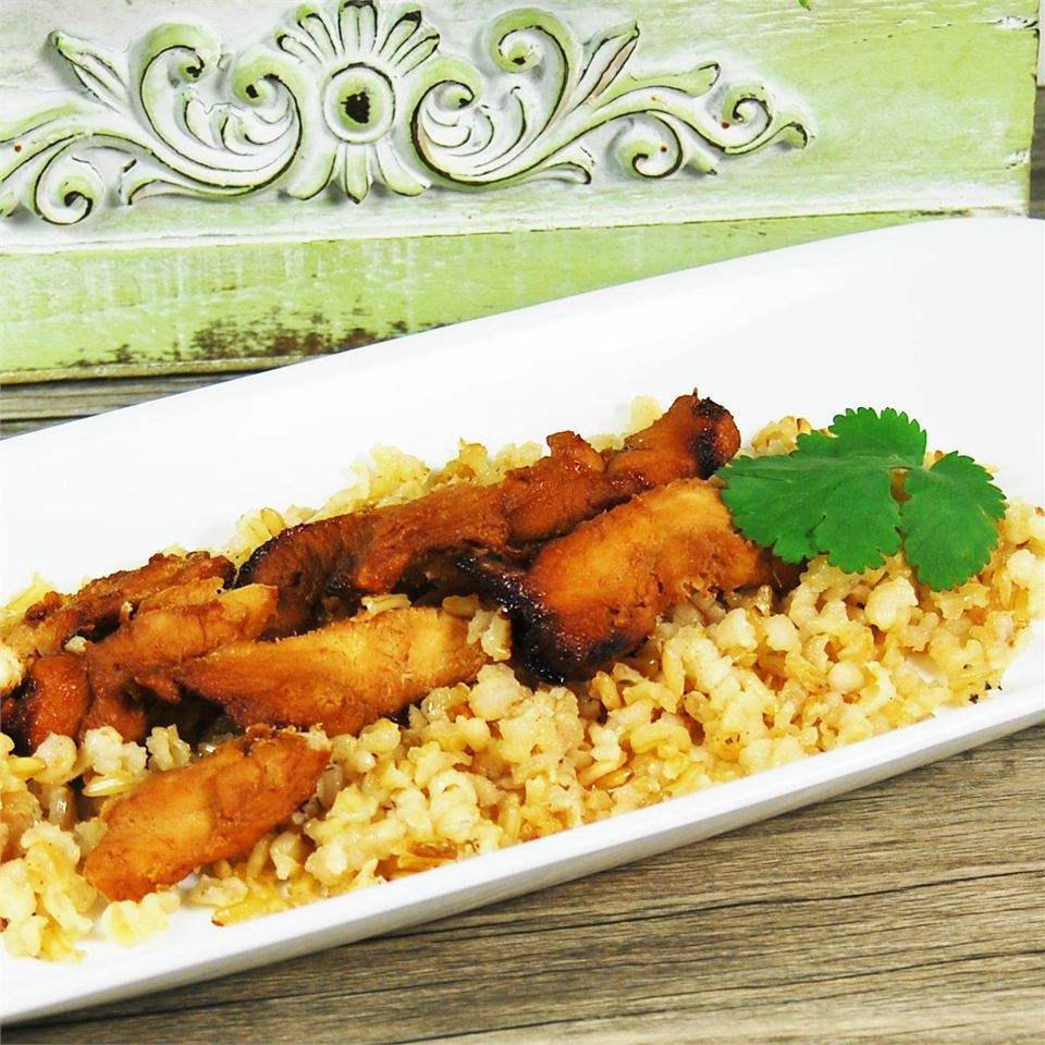 Microwave Chicken Teriyaki LROHNER