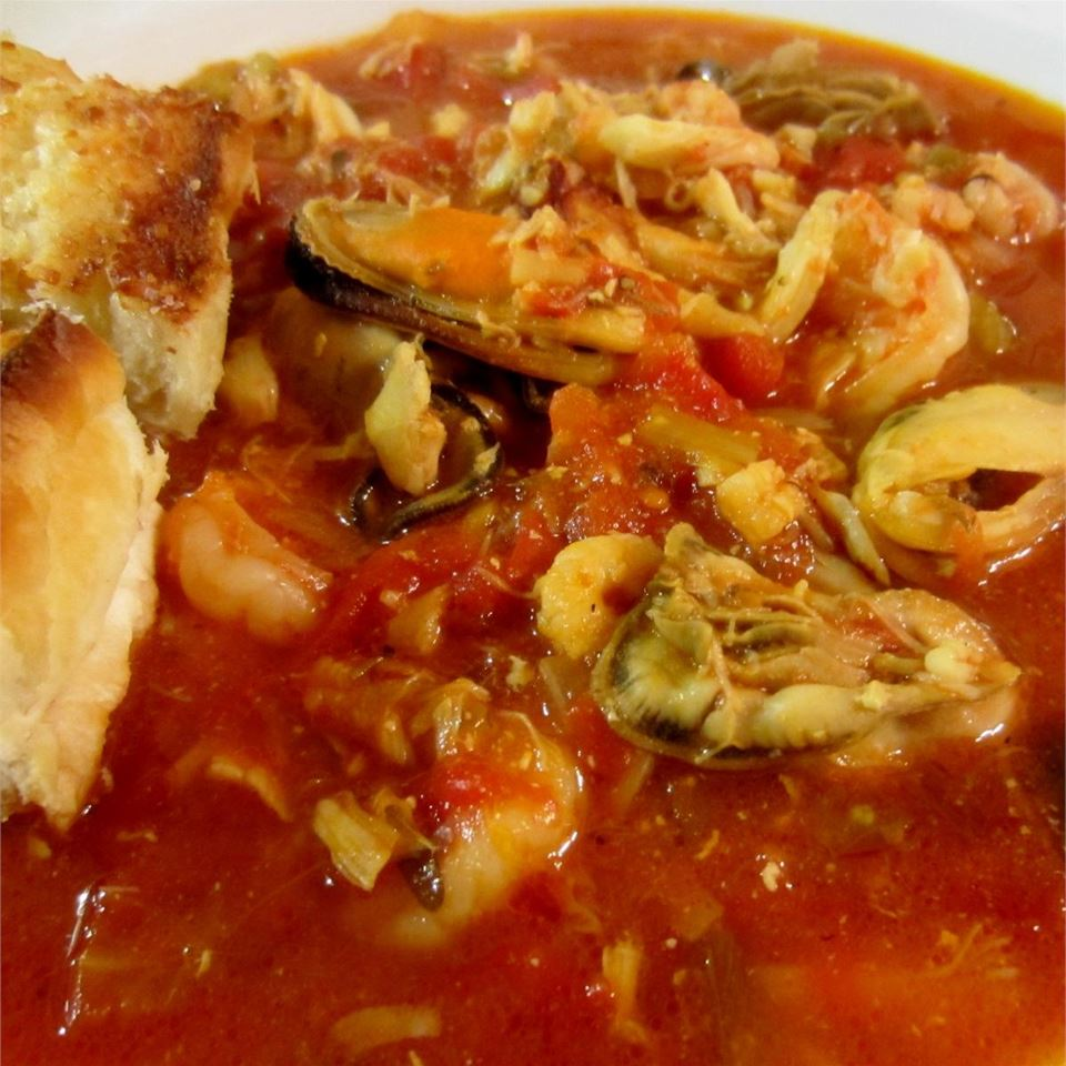 Ann's Christmas Eve Bouillabaisse - Printer Friendly