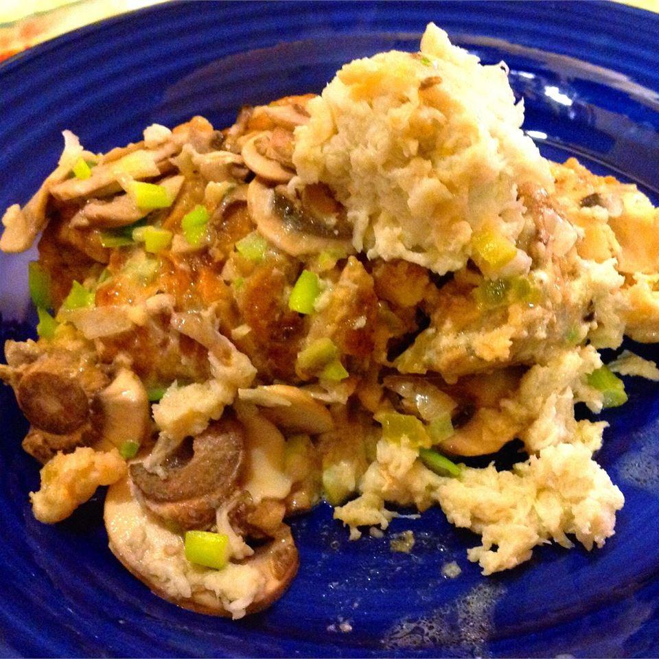 Crawfish Stuffed Chicken Breasts