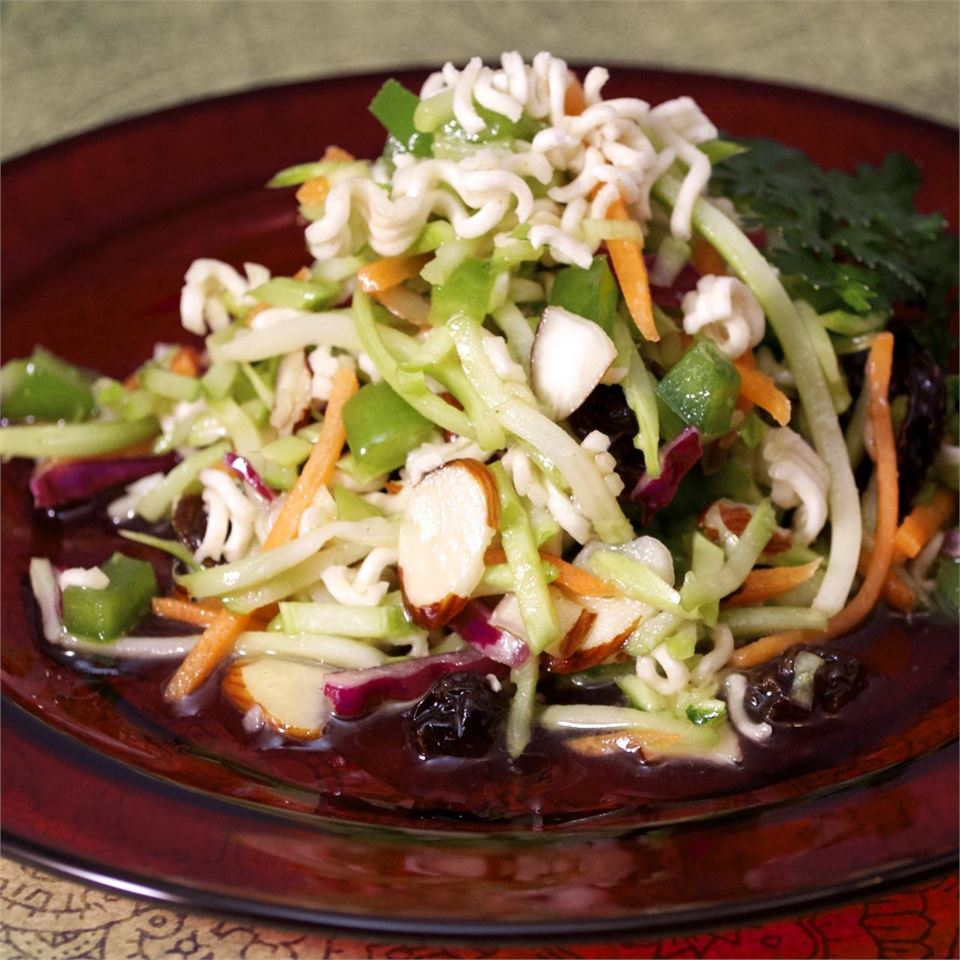 Easy Broccoli Slaw Salad