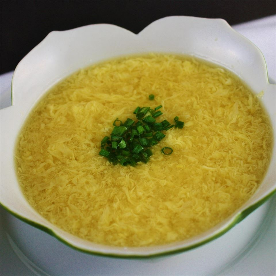 Egg Drop Soup (Better than Restaurant Quality!) - Printer Friendly