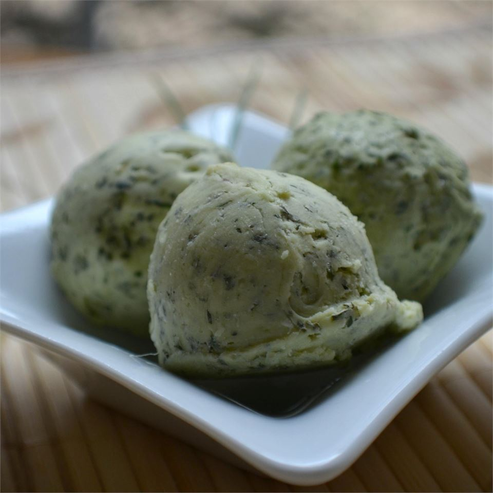 Simple Basil Butter