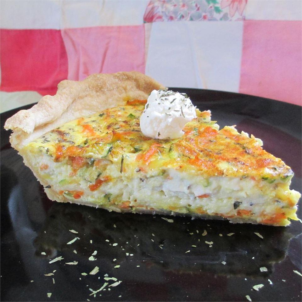 Nana's Zucchini Quiche 4everwill