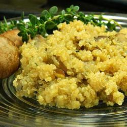 Quinoa Pilaf With Mushrooms