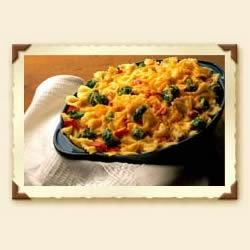 Cheddar and Vegetable Pasta Bake image