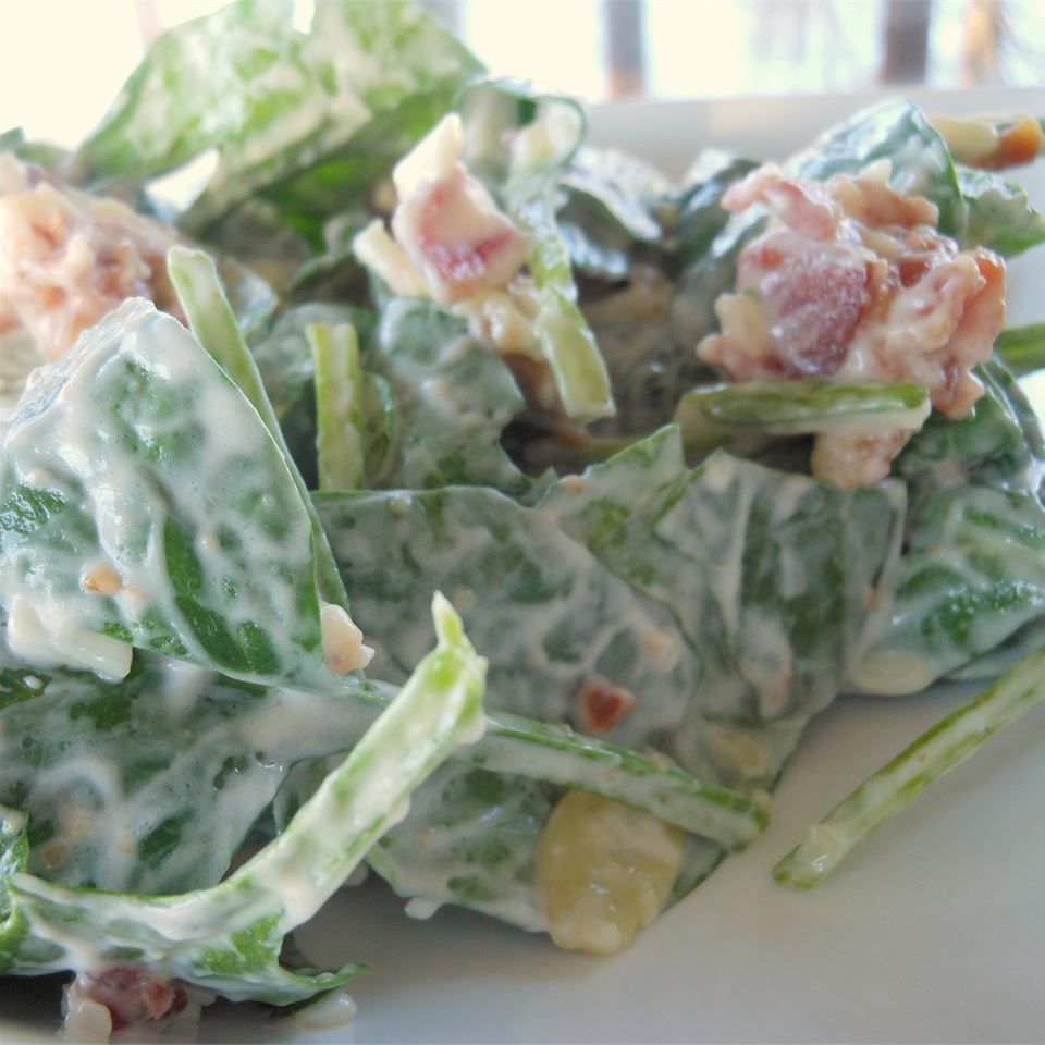 The Best Spinach Salad Ever