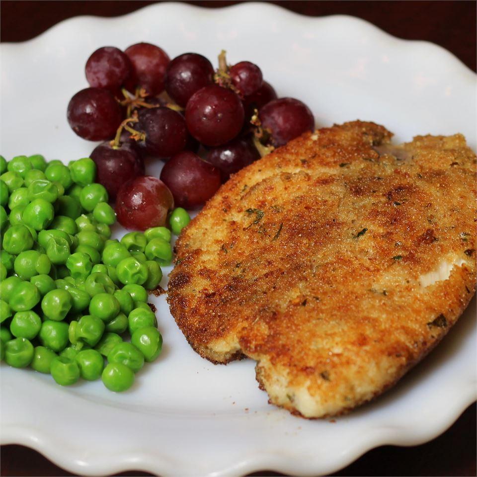 Simple Ranchy Breaded Fish Fillets CHEEREEO