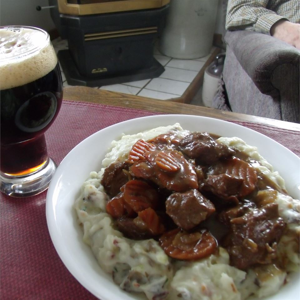 Beer Braised Irish Stew and Colcannon Melynda Richard Wrightstone