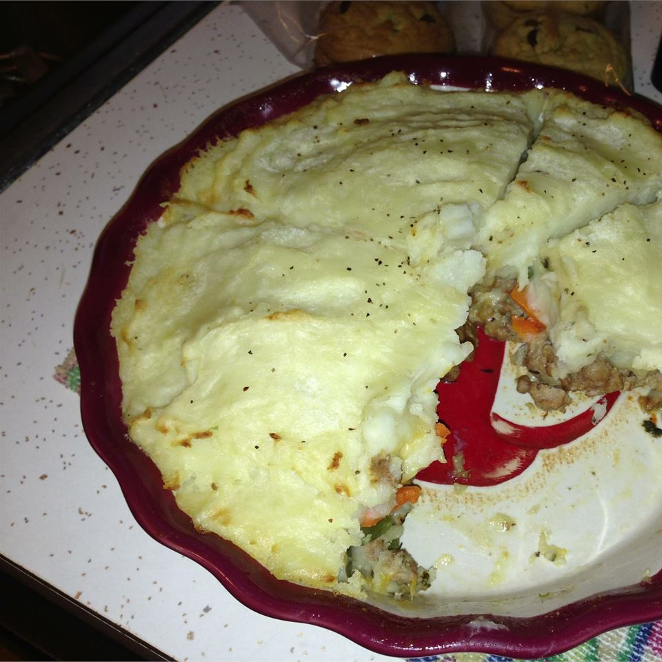 Becca's Custom Turkey Shepherd's Pie RobinM