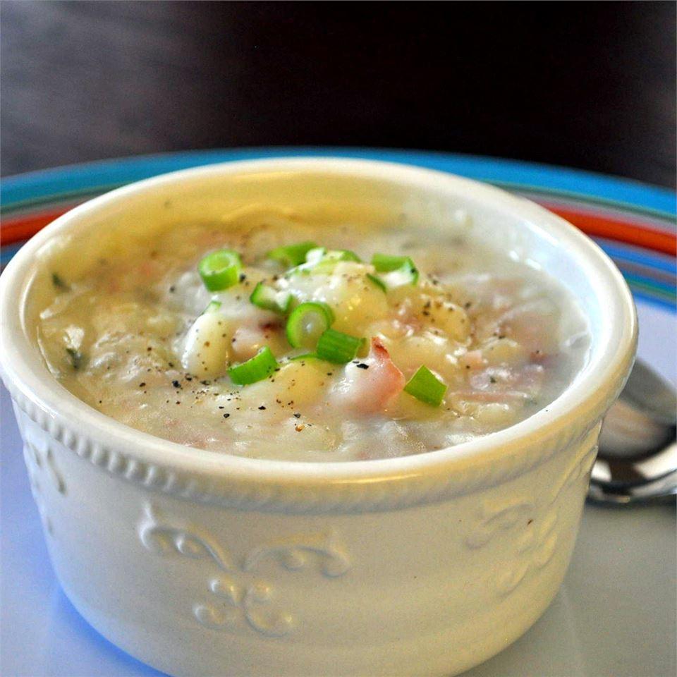 golden potato soup recipe