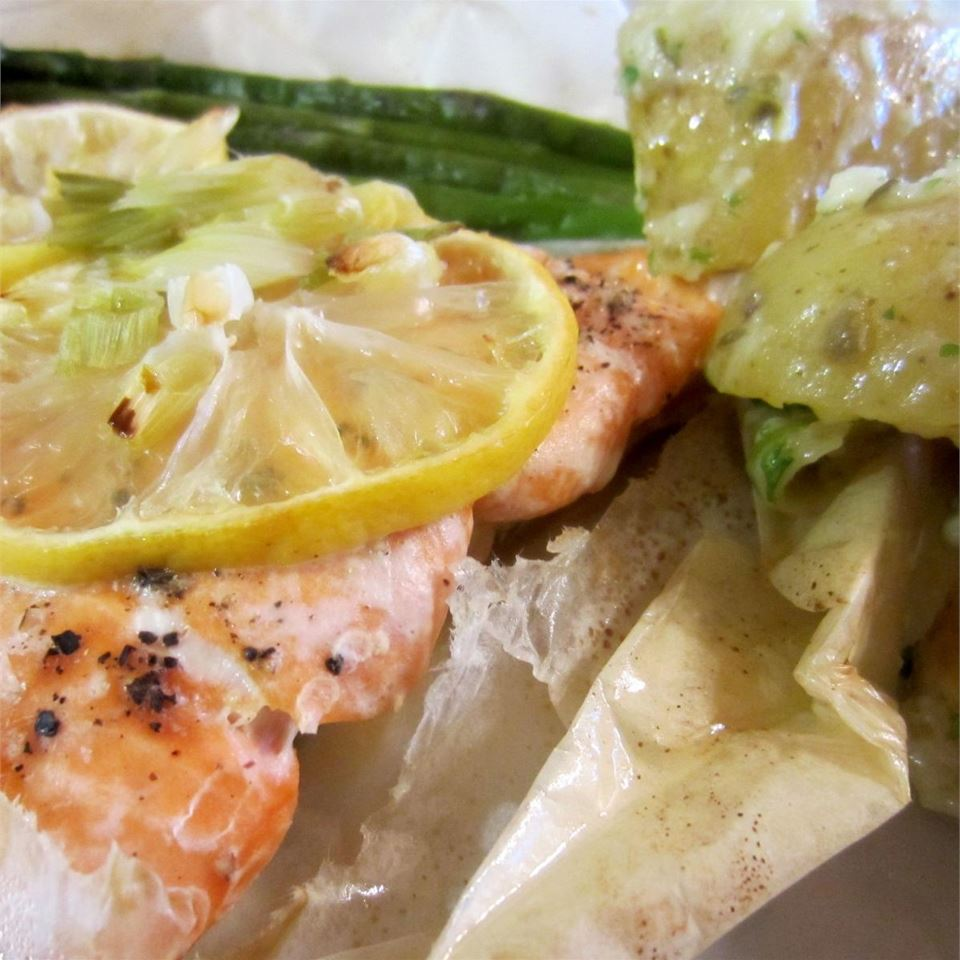 Carly's Salmon En Papillote (In Paper)