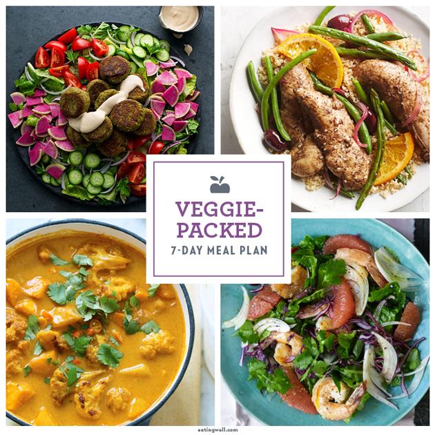 Veggie-Packed Clean-Eating Meal Plan